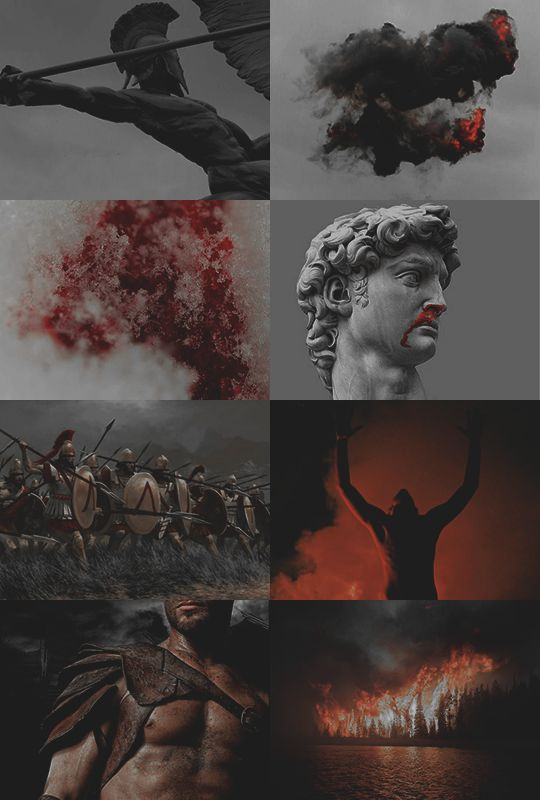 """iAres 2/2:  """"you bleed so much everything tastes like blood to you, the world never tasted of something else  """""""
