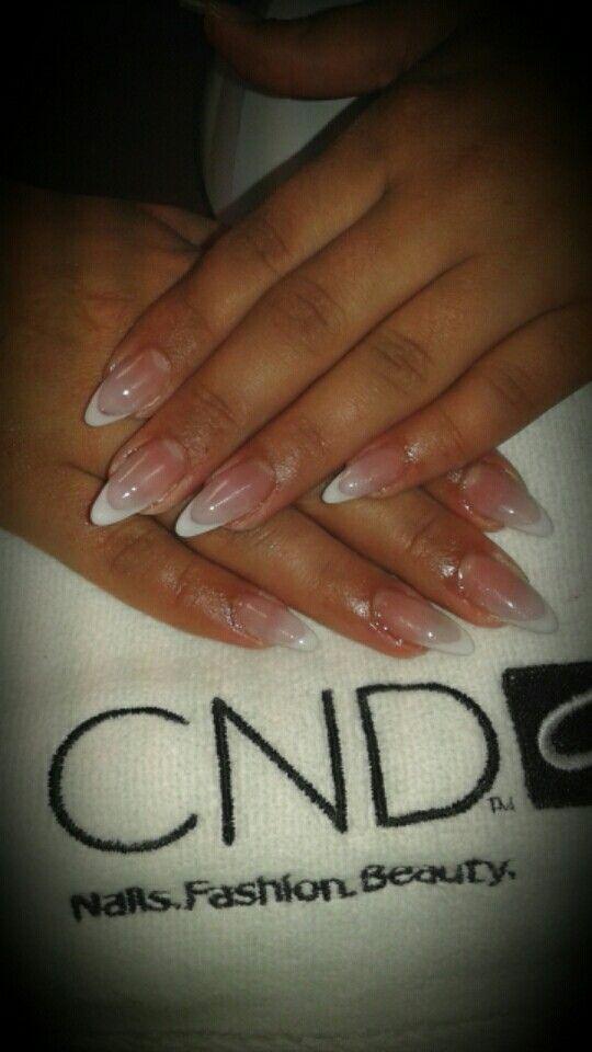 I <3 CND acryl nails