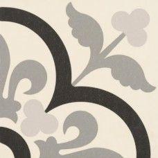 Moroccan Style Glazed Ceramic Eternia Negro 20x20x0.9 cm | £ 0.92 | Moroccan Style Glazed Ceramic Tiles | Best Tile UK | Moroccan Tiles | Cement Tiles | Encaustic Tiles | Metro Subway Tiles | Terracotta Tiles | Victorian Tiles