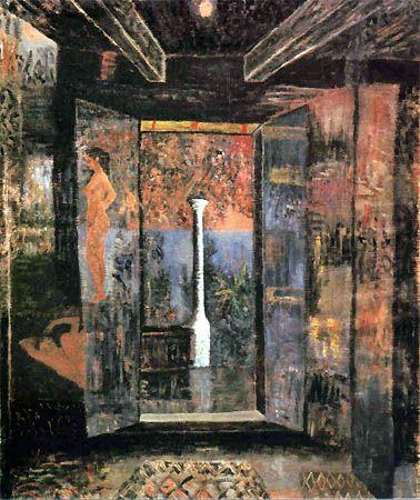 Horia Bernea (1938-2000) - Coloana - 1996