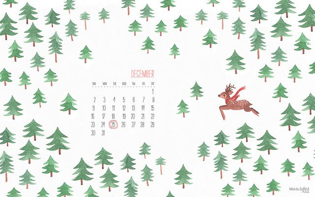 Secret Garden: December Calendar By Oanabefort