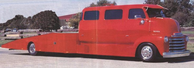 L*>*>king For Old Ramp Truck Hauler, Show Me Whats Out There!   The H.A.M.B. A '53 Chevrolet