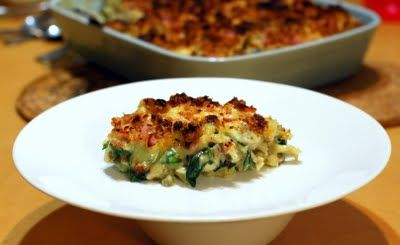 Great for kids: Chicken, Chorizo, Spinach, Mushroom  Broccoli Pasta Bake made with #Thermomix #recipe