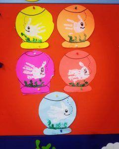 Aquarium craft idea for kids   Crafts and Worksheets for Preschool,Toddler and Kindergarten