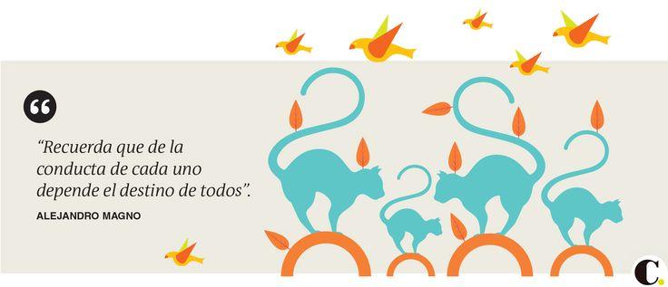 Frase publicada el martes 21 de abril en El Colombiano.