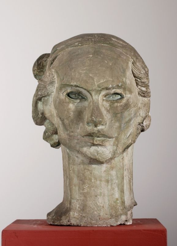 Xawery Dunikowski (Poland 1875-1964), Sarah's Head (Head of Two-Dimensional)…