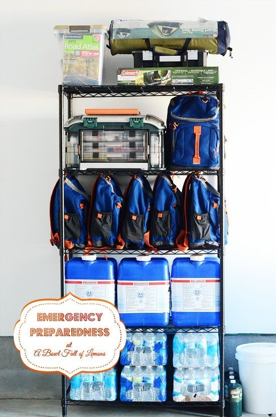 Read this later - Create 72 hour emergency kits over an 8 week period. Instructions on what to do each week.