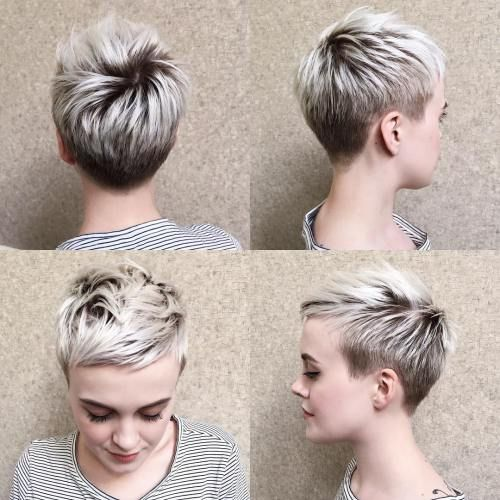 70 Short Shaggy, Prickly, Edgy Pixie cuts and hairstyles