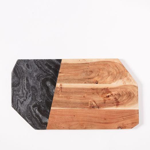 FEED Wood Slate Cheese Board