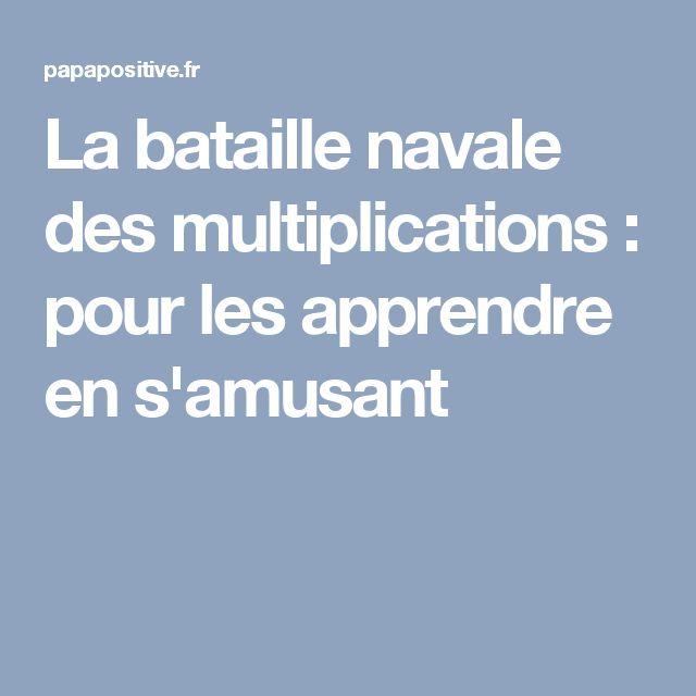 Les 25 meilleures id es de la cat gorie bataille navale - Tables de multiplication en s amusant ...
