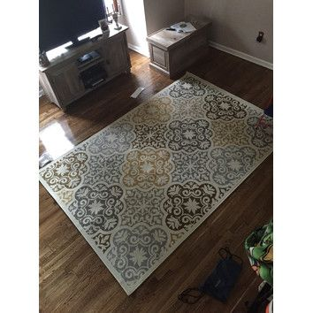 Shop Wayfair for Wildon Home ® Tortola Indoor/Outdoor Floral Ivory & Grey Area Rug - Great Deals on all Decor products with the best selection to choose from!
