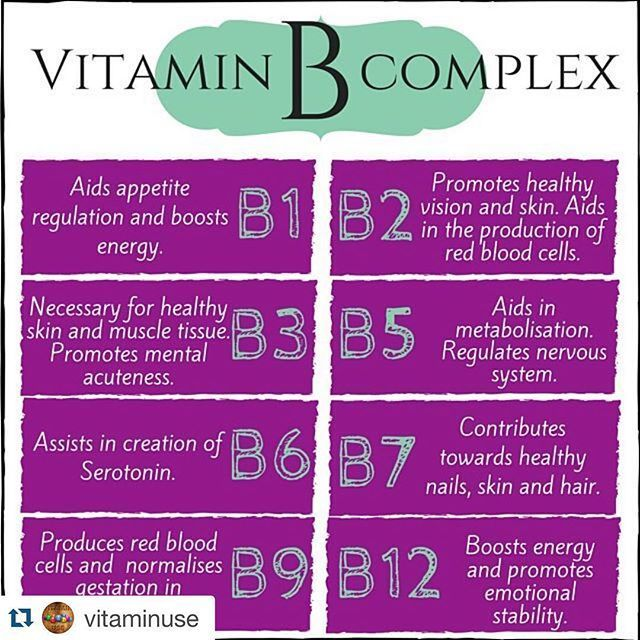 Repost Vitaminuse With Repostapp Fitness Health Referred To As Vitamin B Complex The Eight B Vitamin Vitamin B Complex Vitamins Vitamins And Minerals