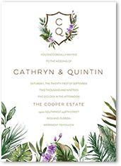 Purple Wedding Invitations | Shutterfly