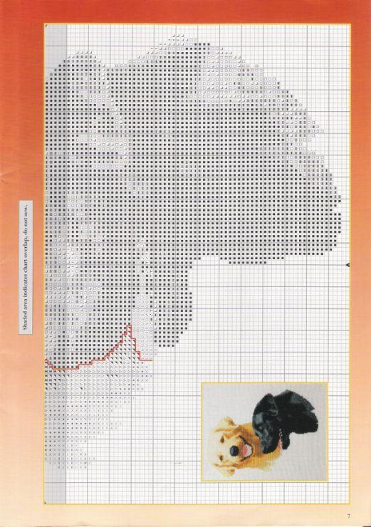 Canine cross stitch patterns