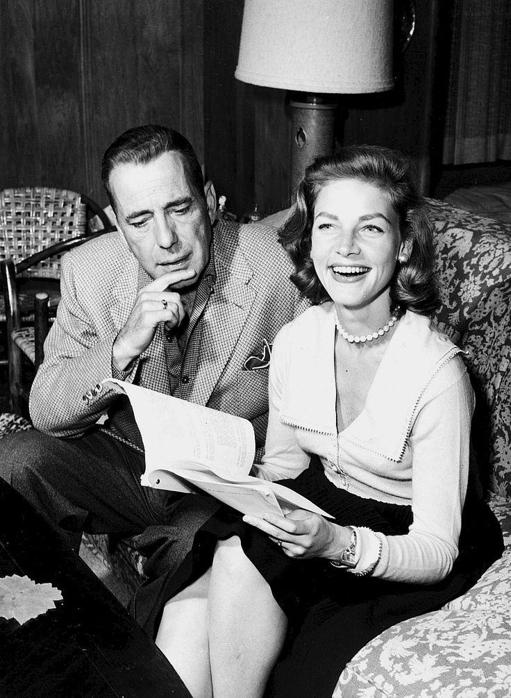 Humphrey Bogart & Lauren Bacall (Dark City Tumblr)