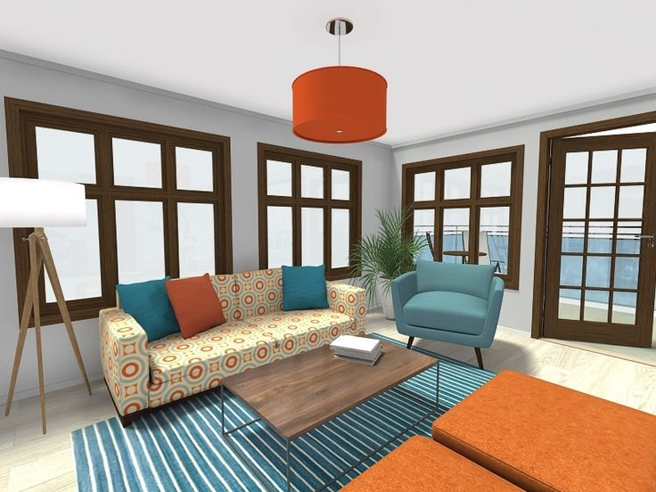 Check It Out! Http://www.roomsketcher.com/blog/exciting New Home Designer Updates/  #RoomSketcher #LivingRoomIdeas #LivingRoomDesign