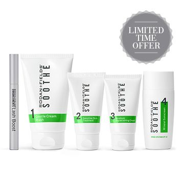 Soothe Regimen + Lash Boost Special, Limited Time Offer Through March 9, 2017 Calm skin and Lush Lashes Preferred Customers 30% off