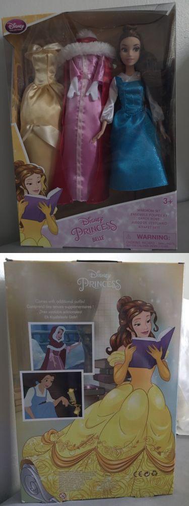 Disney Princesses 146030: Disney Collection Princess Belle Fashion Wardrobe Doll Set -> BUY IT NOW ONLY: $35.99 on eBay!