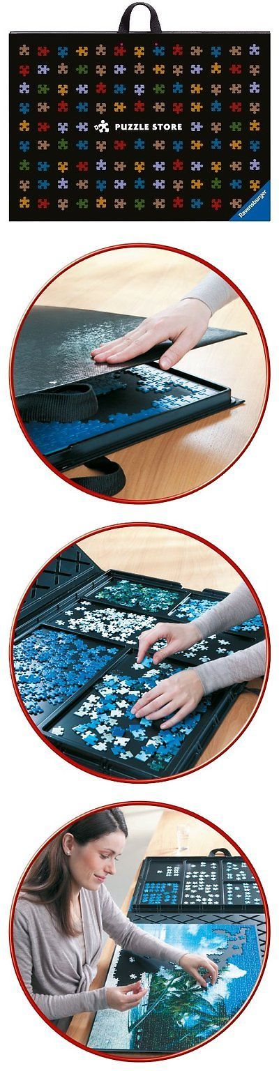 Jigsaw 19183: Jigsaw Puzzle Store 1000 Pieces Puzzles Transport Travel Sorting Tray Board Mat -> BUY IT NOW ONLY: $72.38 on eBay!