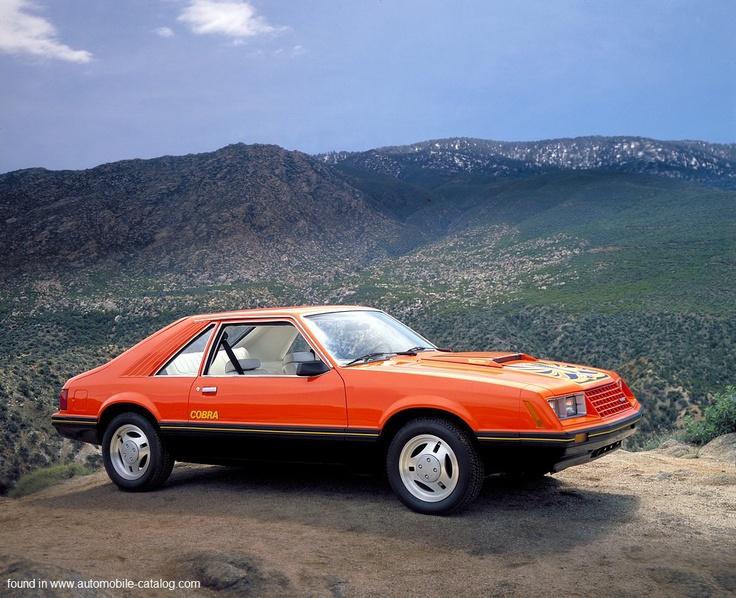 1979 Foxbody Mustang Cobra, my 2nd mustang but not orange it was metallic grey