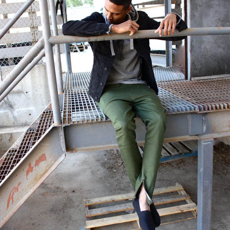 Okay Monday, let's do this.  #monday #fashion #mensapparel #shoes #toms #streetstyle #outfitoftheday #zipper #hoodie Shop this look at www.kixs.ca