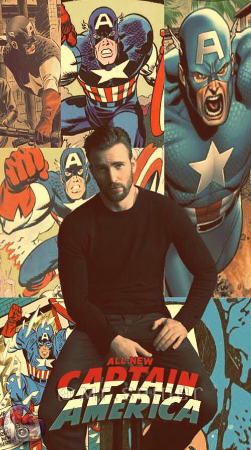Does the wallpaper come with Chris Evans? Cause if so, I'm gonna have to add that to cart