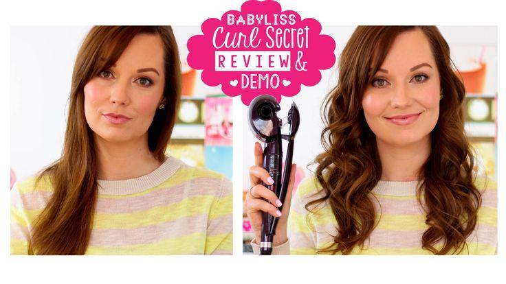 Review & Demo   Babyliss Curl Secret ♡ Pink Peonies Blog