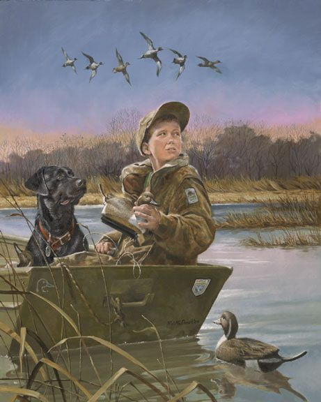 one of my goals is to help pass on the tradition and heritage of duck hunting in the next generations. several family members taught me how to hunt as a kid and that's one of the most important things that's happened to me.