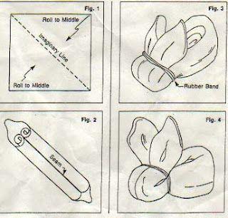 Washcloth bunny:)