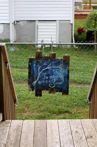 17 Best Images About Chain Link Fence Art On Pinterest