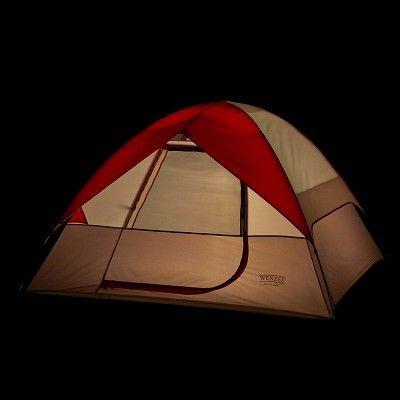 Wenzel Ridgeline 3 Person Tent, Red