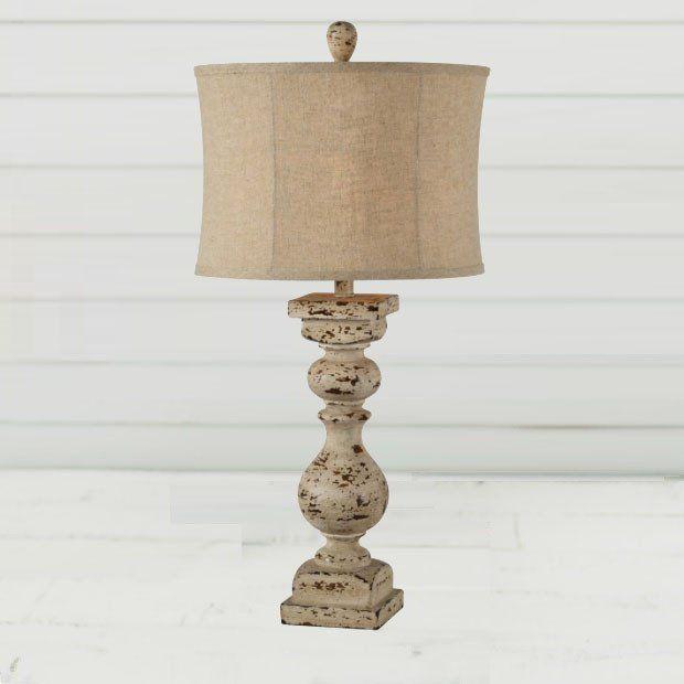 Antiquefarmhouse Com Distressed Finish Farmhouse Table Lamp Farmhouse Table Lamps Table Lamp Lamp