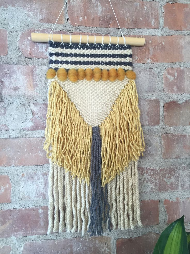 A Woven Dress Featuring An Allover: 1000+ Ideas About Woven Wall Hanging On Pinterest