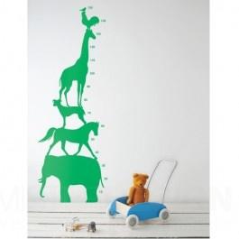 Fancy Mit dieser Animal Tower Wanddekoration von Ferm Living schlagen Sie zwei Fliegen mit einer Klappe