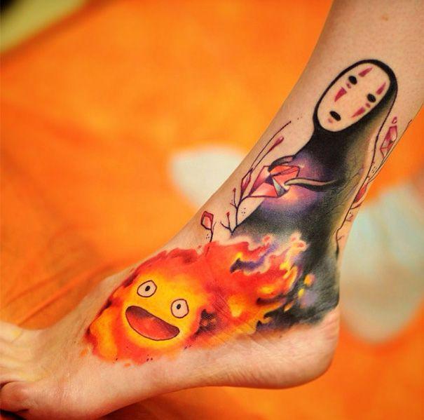tatuajes miyasaki                                                                                                                                                                                 Más