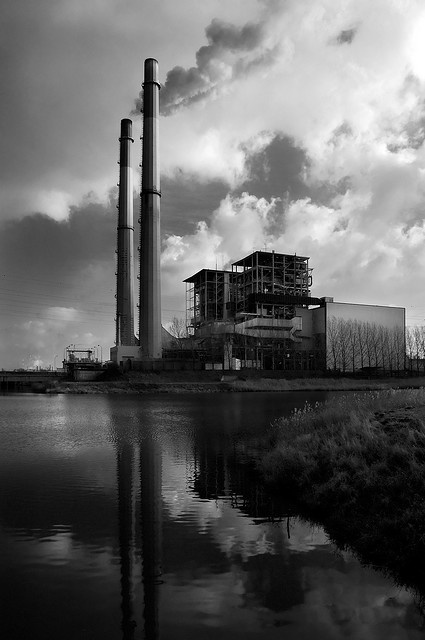 Its A Bleak Industrial Landscape That Flashes Past And Alongside Screaming Headlines Nihilism Has Never Looked