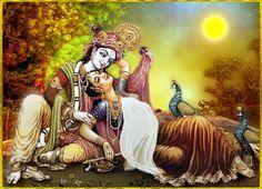 KRISHNA ART — ✨ RADHA KRISHNA ✨ Hare Krishna Hare Krishna...