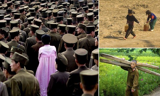 The photos North Korea's Kim Jong Un DIDN'T want you to see