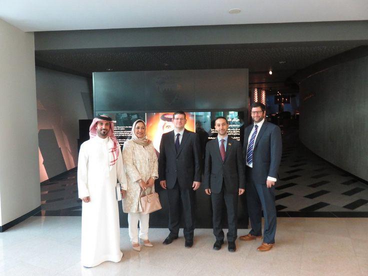 EU delegation in Bahrain - February