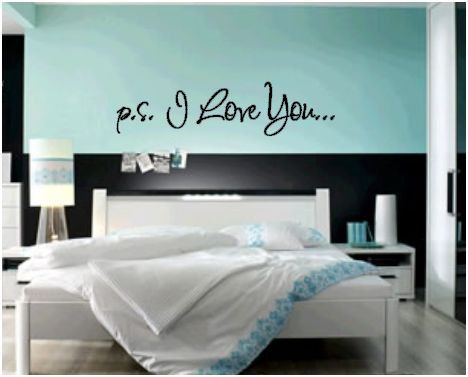 p.s. I Love You Vinyl Decal
