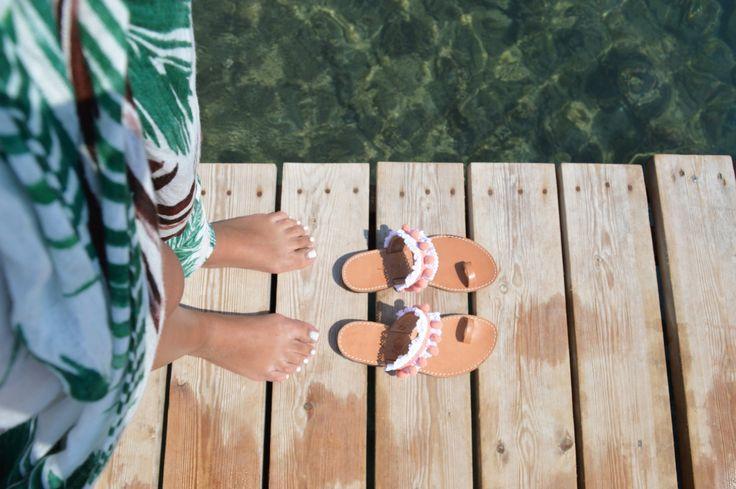 In pelle sandali moda greca a mano boho Ancient Greek Sandals di fattoamanou su Etsy