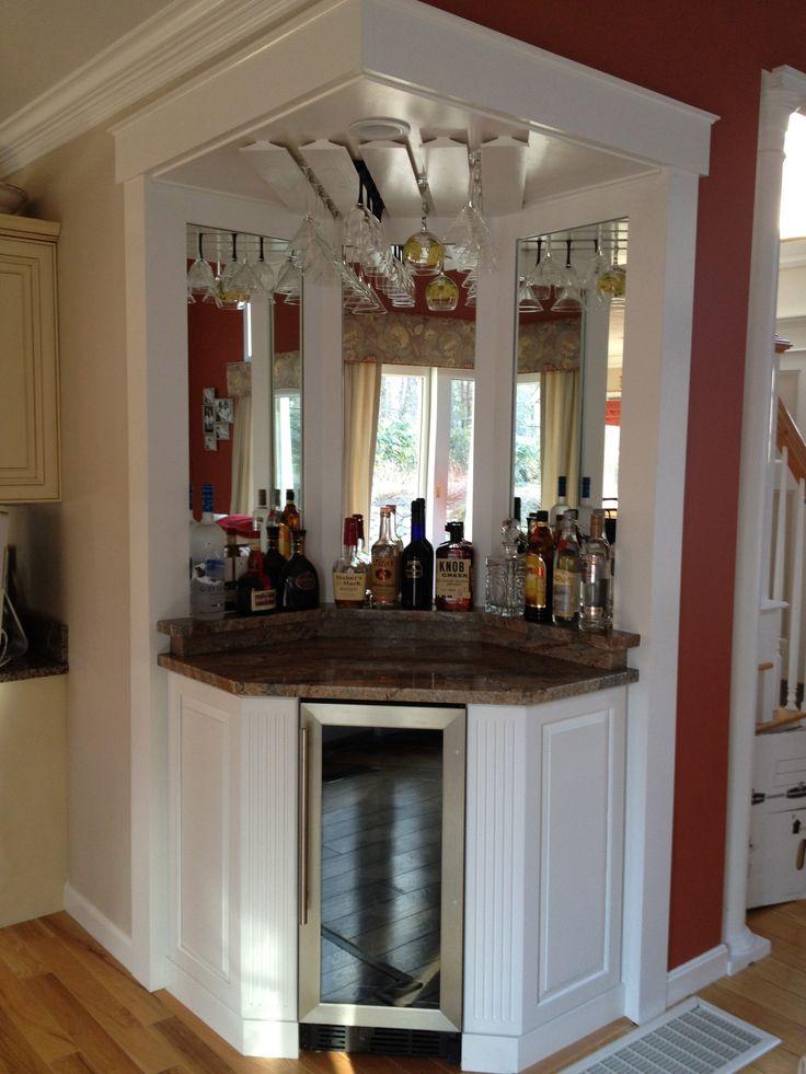 Corner wine bar, love it!