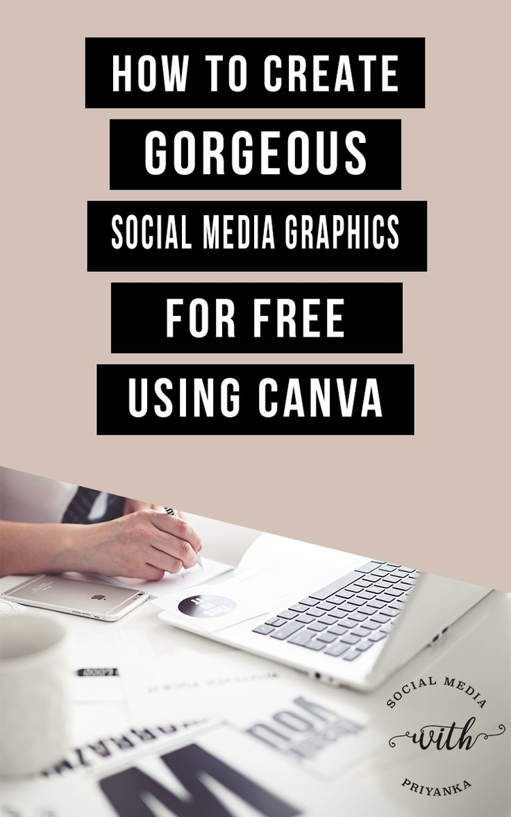 [VIDEO TUTORIAL] How to create gorgeous social media graphics for free using Canva - 3 simple design hacks for the non-designer PLUS a BONUS graphic design toolkit. // Social Media with Priyanka