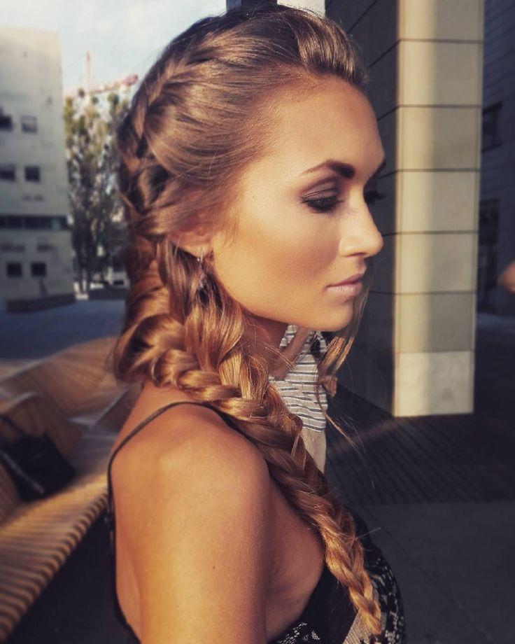 #365daysofbraids #day57 #fishtailbraid #wyzwanie #hairchallenge #klos #warkocze #hotd #instahair #hairstylist #hairblog  #photoshooting #model