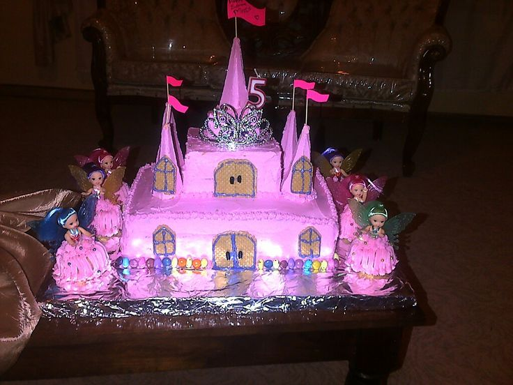 Birthday cake for a little princess 😇