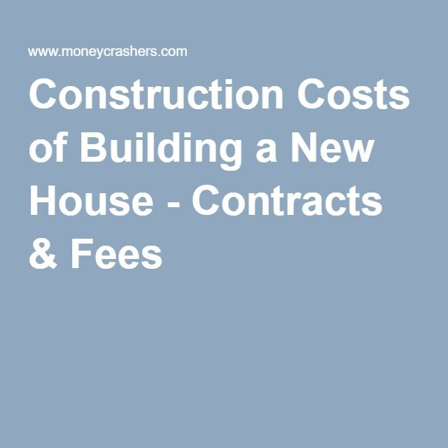 Best 25 construction cost ideas on pinterest building a for New home construction estimator