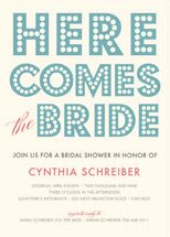 float + here comes Bridal Shower Invitations by Fl... | Minted