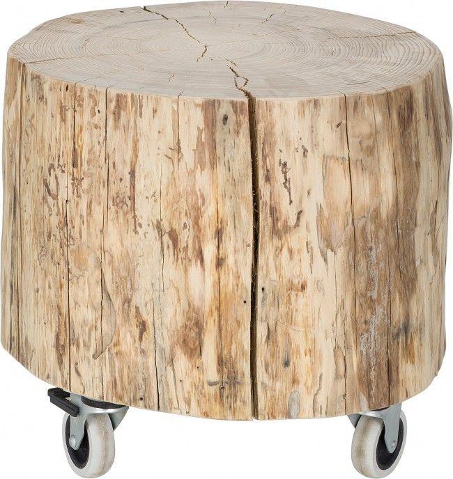 stapelgoed boomstam tafel 35 x 40 cm