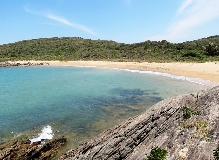 Praia do Ermitão, Guarapari, Espírito Santo