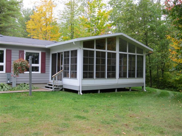 All season porch for the home pinterest porch for Mobile home enclosed porch
